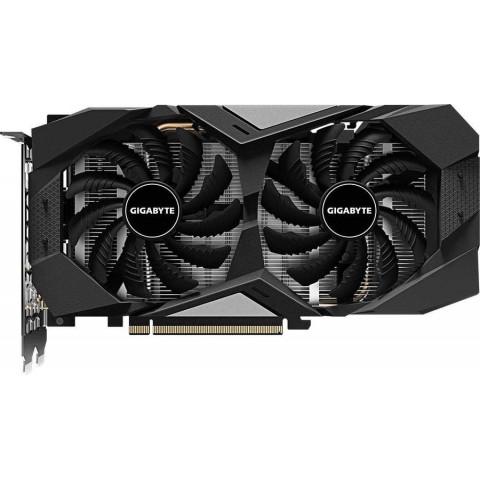 Видеокарта GIGABYTE nVidia GeForce GTX 1660 , GV-N1660OC-6GD, 6Гб, GDDR5, OC, Ret